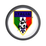 Italia Soccer Wall Clock