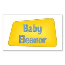 Baby Eleanor Rectangle Decal