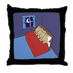 Sleeping Bunnies Throw Pillow