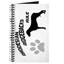 Rhodesian Ridgebacks Rule Journal