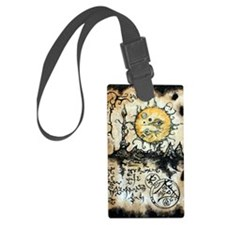 Eyes of the Sun Luggage Tag