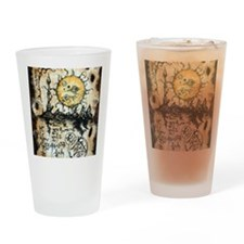 Eyes of the Sun Drinking Glass