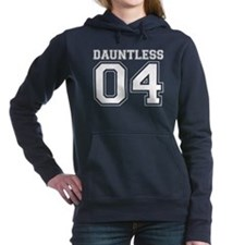 Dauntless 04 on Black Hooded Sweatshirt