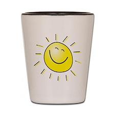 Smiling Sun Shot Glass