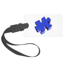 Puzzle Piece 2.1 Blue Luggage Tag