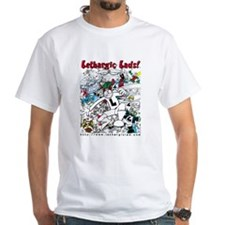 "White ""Lethargic Lads"" T-shirt"