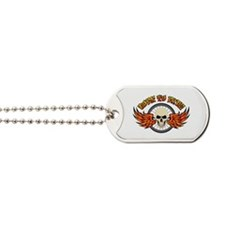 Born To Ride (Road Bike) Dog Tags