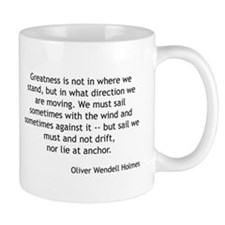 Oliver Wendell Holmes - What Direction Mugs