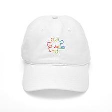 Rainbow Gradient Autism Baseball Cap