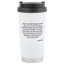 Helen Keller - Humble Tasks Travel Mug