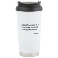 Helen Keller - Happy Life Travel Mug