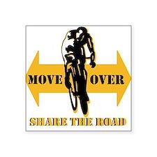 Move Over Share The Road Sticker