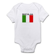 Sicilia, Italia Infant Bodysuit