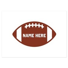 Customize a Football Invitations