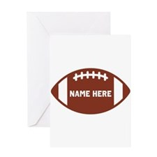 Customize a Football Greeting Cards