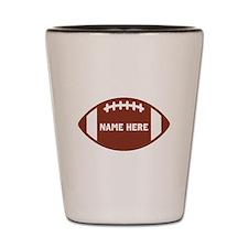 Customize a Football Shot Glass