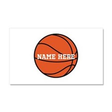 Customize a Basketball Car Magnet 20 x 12