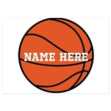 Customize a Basketball Invitations