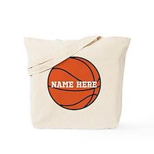 Customize a Basketball Tote Bag