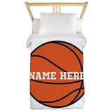 Customize a basketball Duvet Covers
