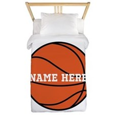 Customize a Basketball Twin Duvet