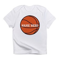 Customize a Basketball Infant T-Shirt