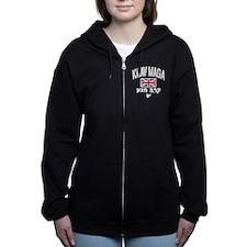 Krav Maga United Kingdom Women's Zip Hoodie
