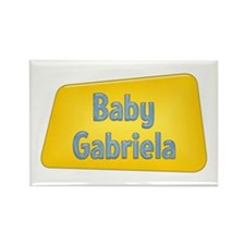 Baby Gabriela Rectangle Magnet (10 pack)