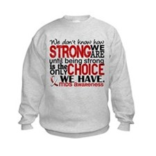 MDS How Strong We Are Sweatshirt