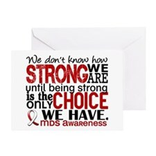 MDS How Strong We Are Greeting Card