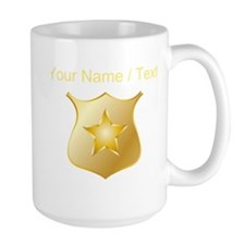 Custom Police Badge Mugs