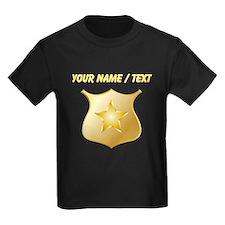 Custom Police Badge T-Shirt