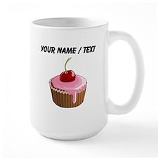 Custom Cherry Cupcake Mugs