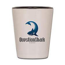 QuestionShark Logo Shot Glass