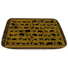 Wild Animals Bathmat