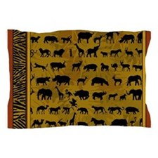 Wild Animals Pillow Case