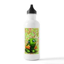 Green Turtle Baby 3D Water Bottle