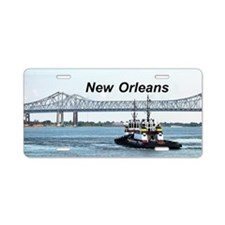 New Orleans Aluminum License Plate