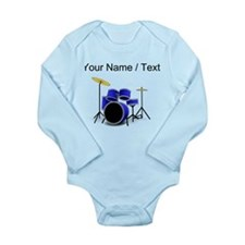 Custom Blue Drums Body Suit