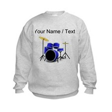 Custom Blue Drums Sweatshirt