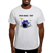 Custom Blue Drums T-Shirt