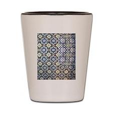 Mexican Tile Design Shot Glass