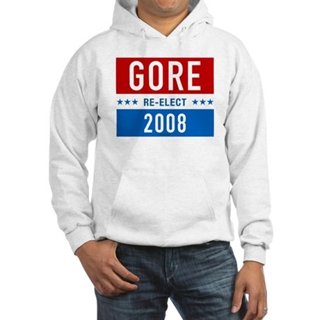 Re-elect Al Gore Hooded Sweatshirt
