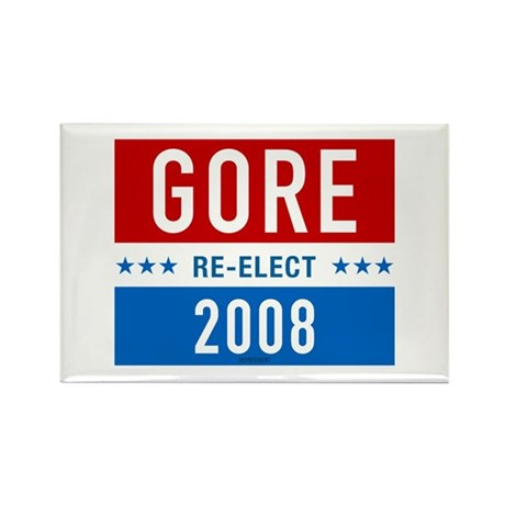 Re-elect Al Gore Rectangle Magnet (100 pack)