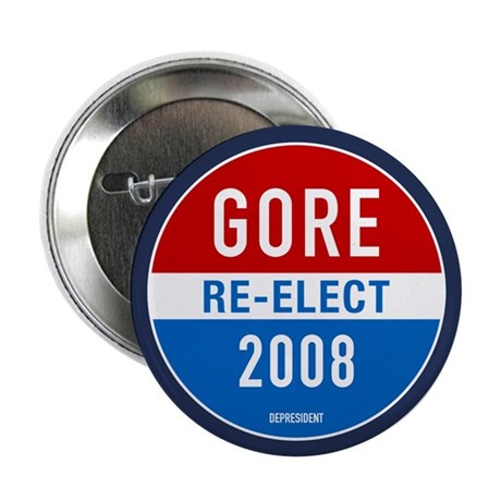 Re-elect Al Gore Button