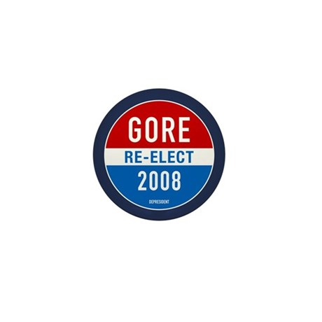 Re-elect Al Gore Mini Button (100 pack)