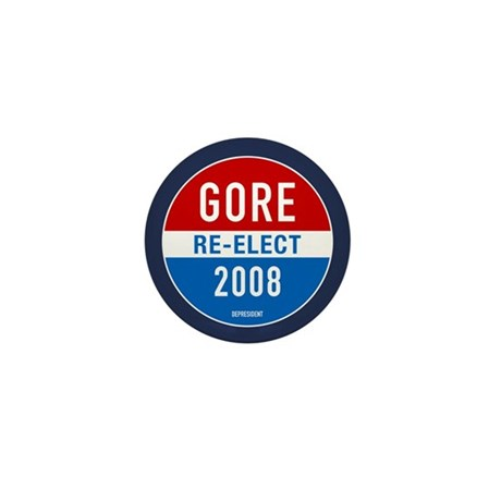 Re-elect Al Gore Mini Button