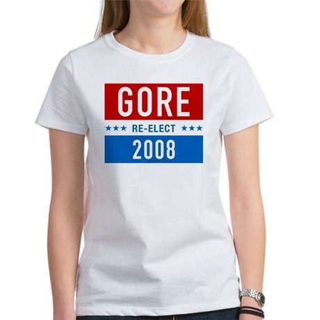 Re-elect Al Gore Womens T-Shirt