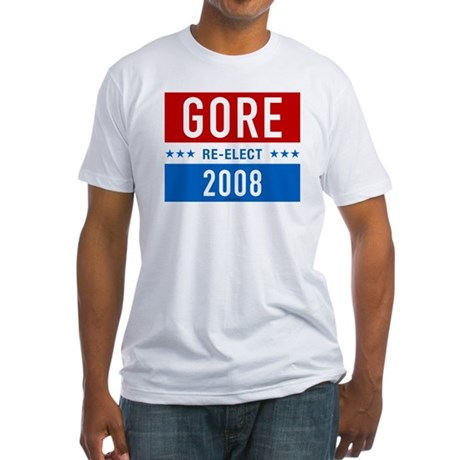Re-elect Al Gore Fitted T-Shirt