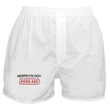 HERPETOLOGY kicks ass Boxer Shorts